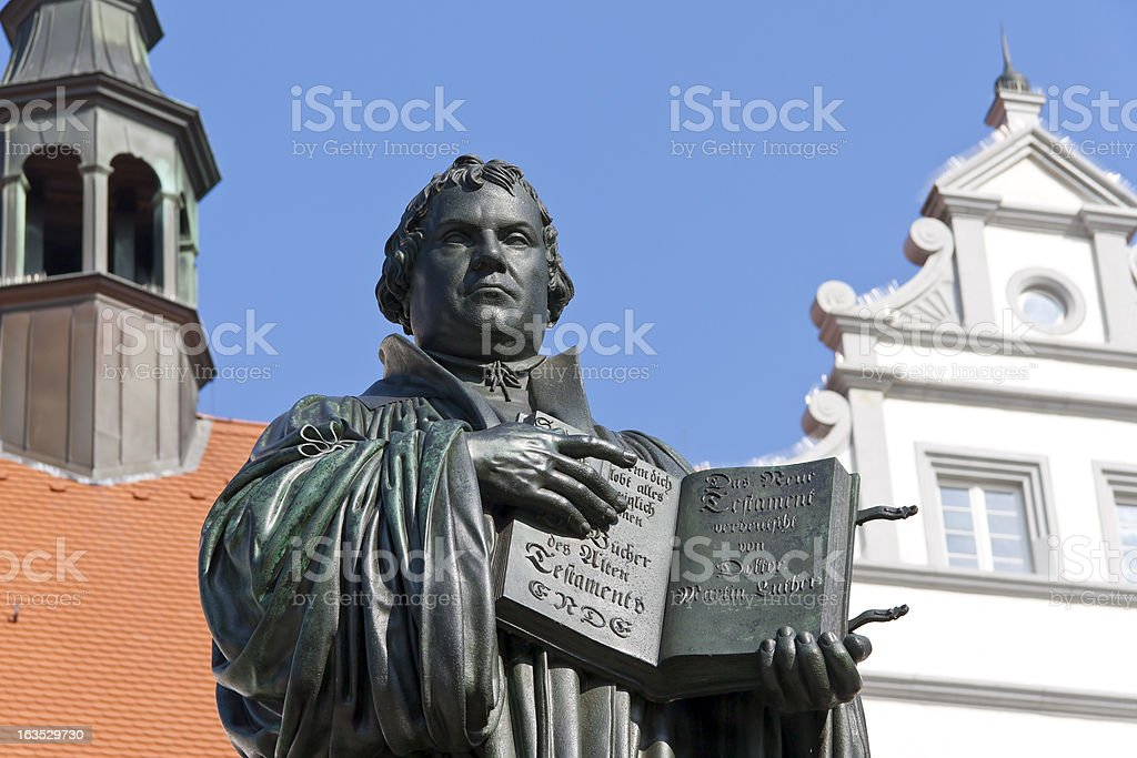 Church Reformer Martin Luther stock photo