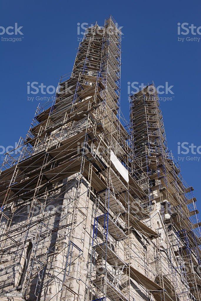 Church Restoration royalty-free stock photo