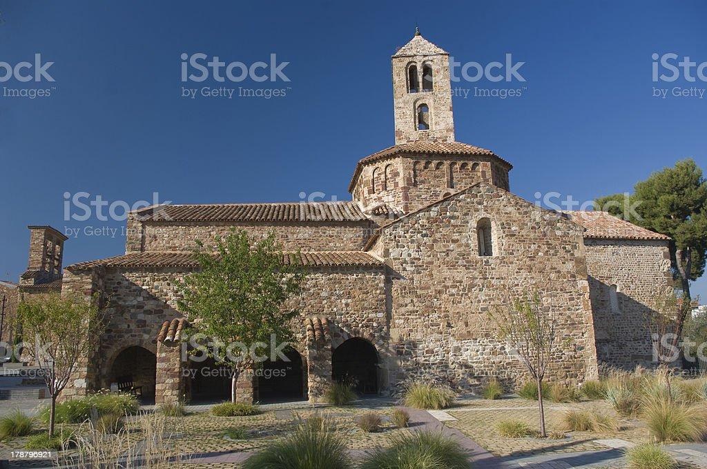 Church romanesque of Terrassa.Catalonia.Spain royalty-free stock photo