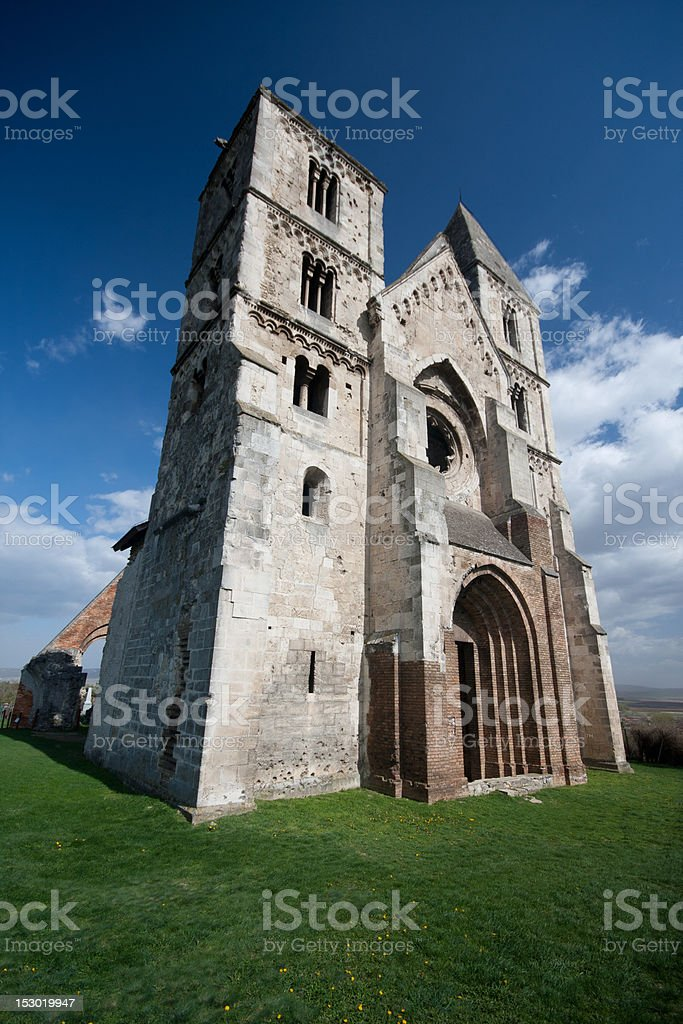 church ruin royalty-free stock photo