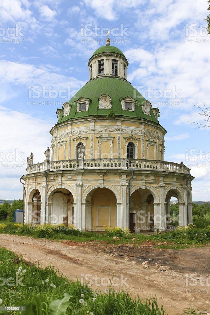 Church, Russia. royalty-free stock photo