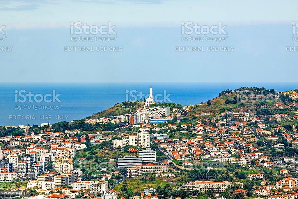 Church Saint Martin, Madeira, Portugal stock photo