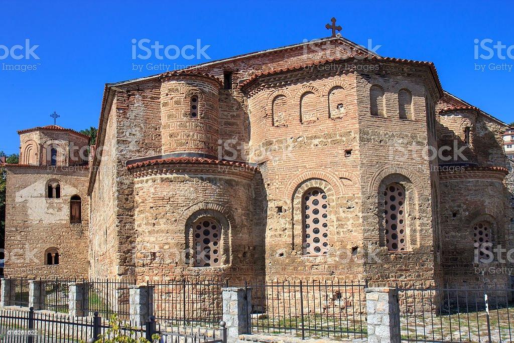 Church Saint Sophia, Ohrid lake, FYRM (Macedonia) stock photo