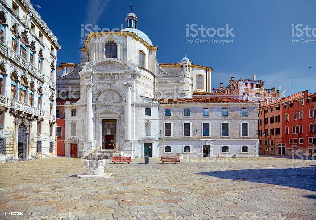 Church San Geremia in Venice, Italy stock photo