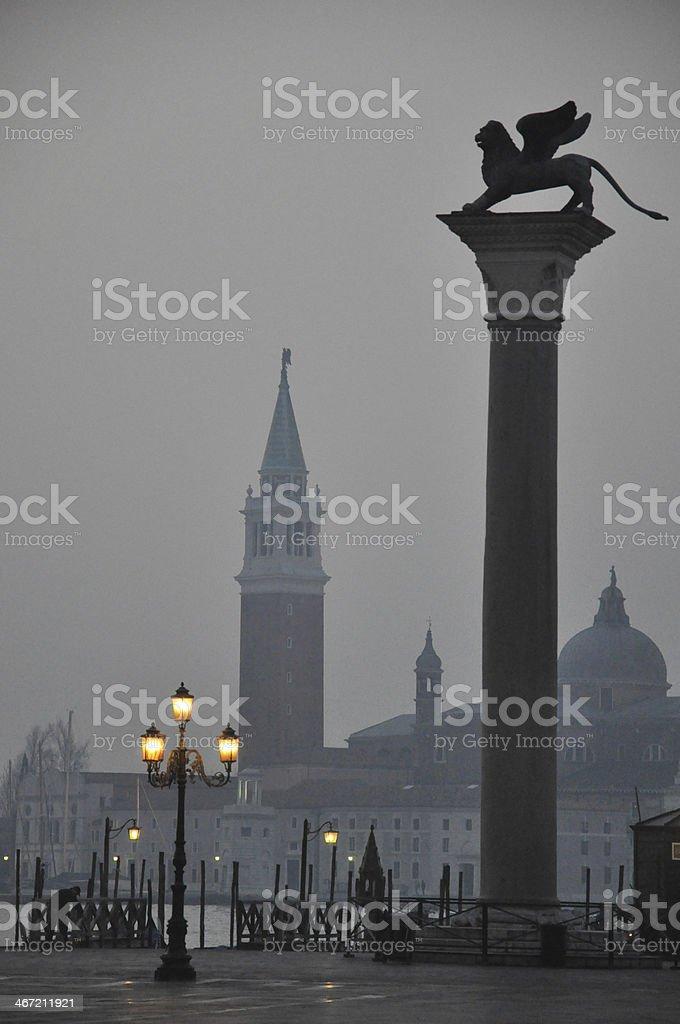 Church San Giorgio Maggiore in Venice, Italy stock photo