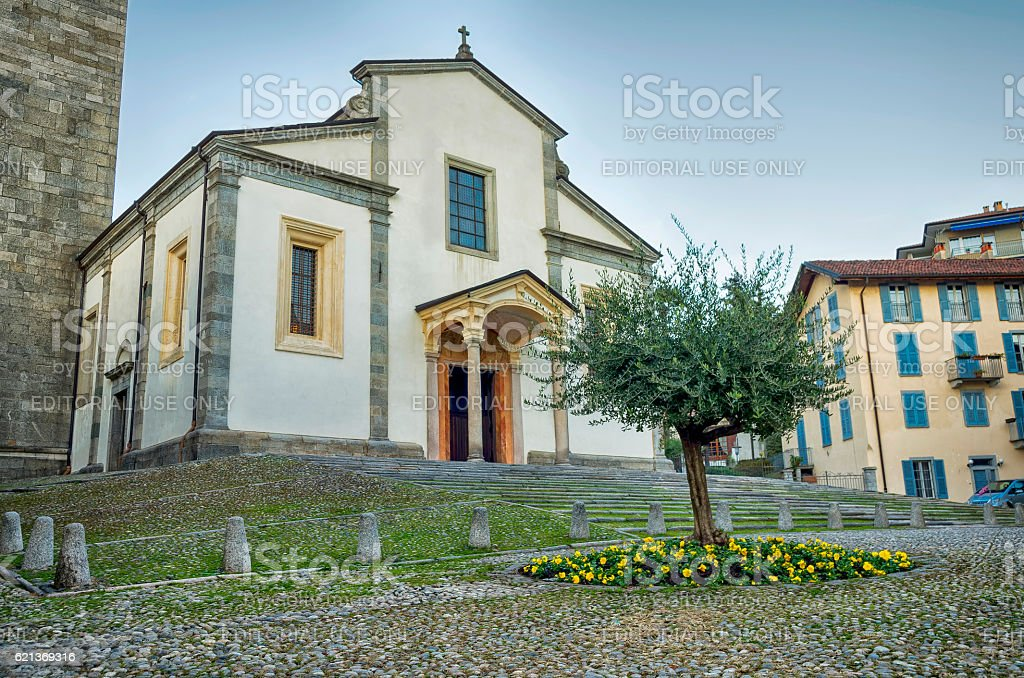 Church San Leonardo in Pallanza ,Verbania royalty-free stock photo