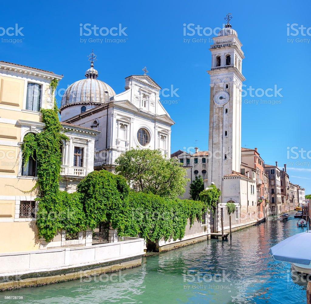Church Santa Maria Formosa in the Castello, Venice stock photo