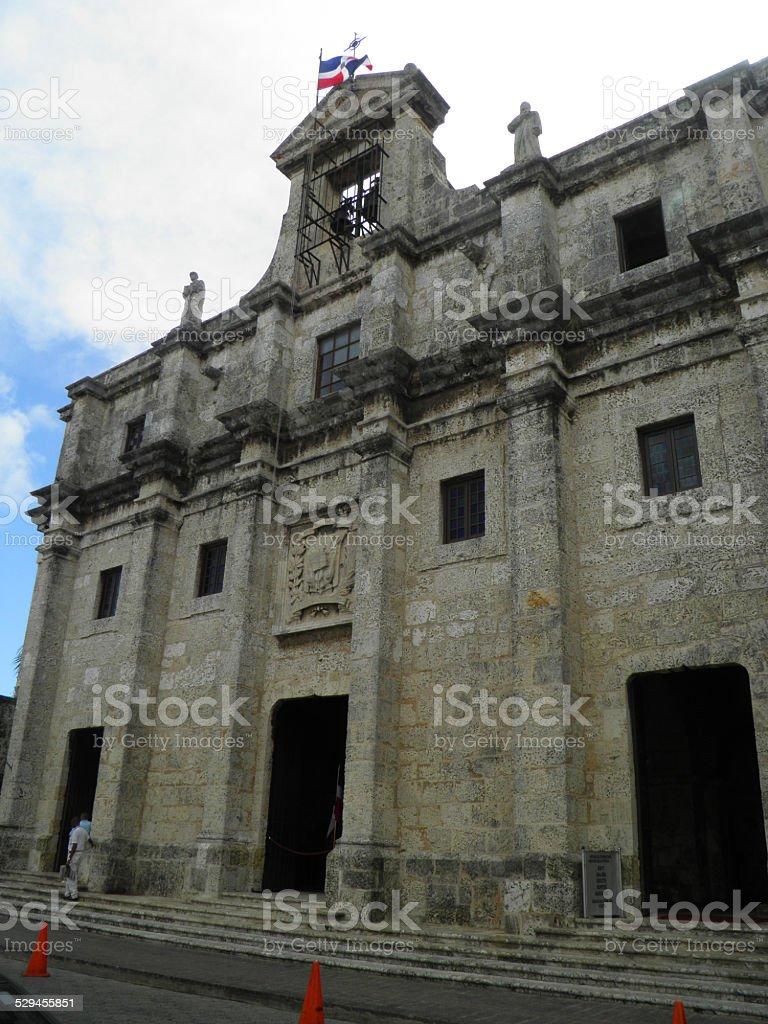 Cúpula de la iglesia del santo domingo foto de stock libre de derechos