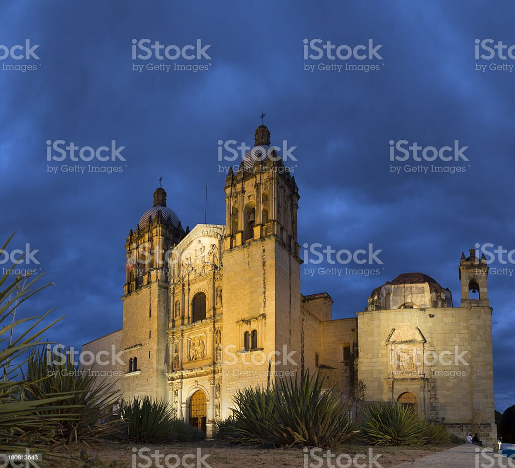 Church Santo Domingo, Oaxaca stock photo