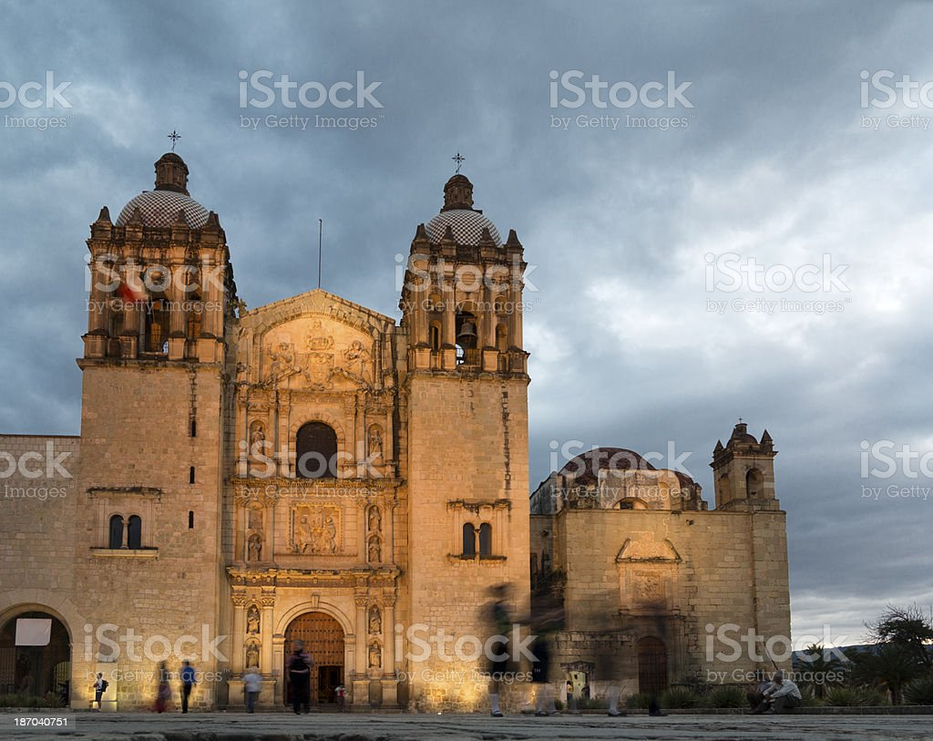 Church Santo Domingo, Oaxaca stock photo