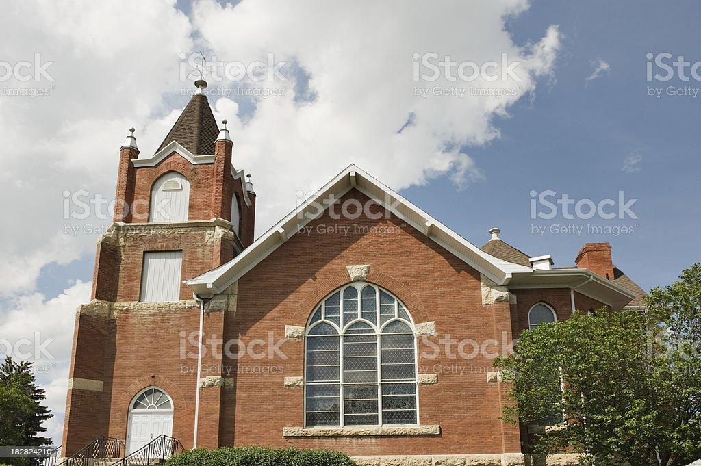Church Saskatchewan Canada stock photo