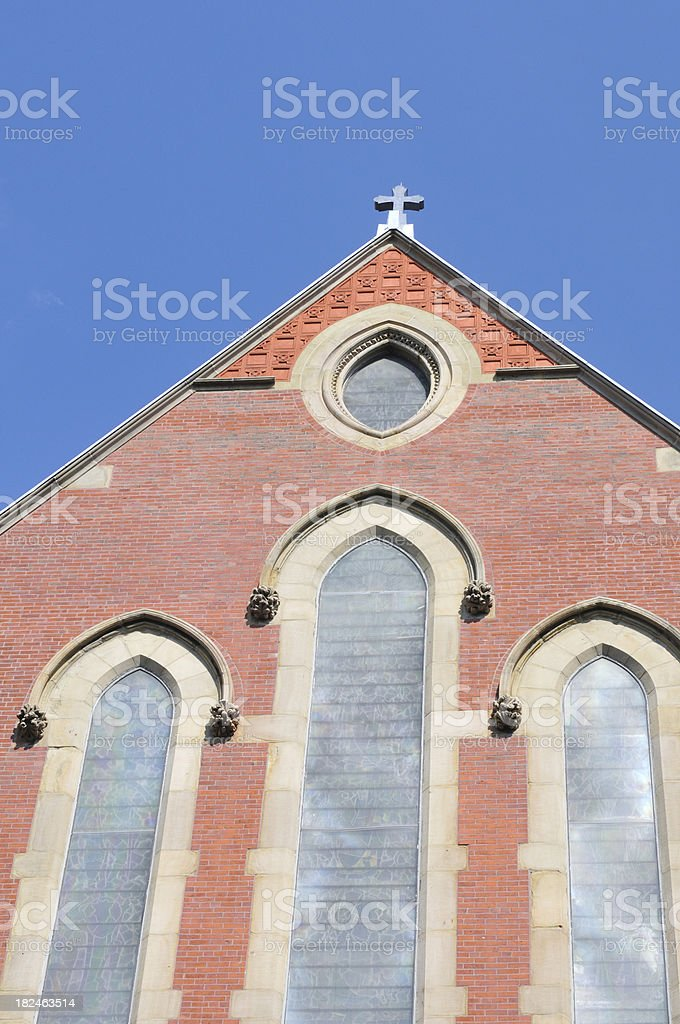 Church Sidewall royalty-free stock photo