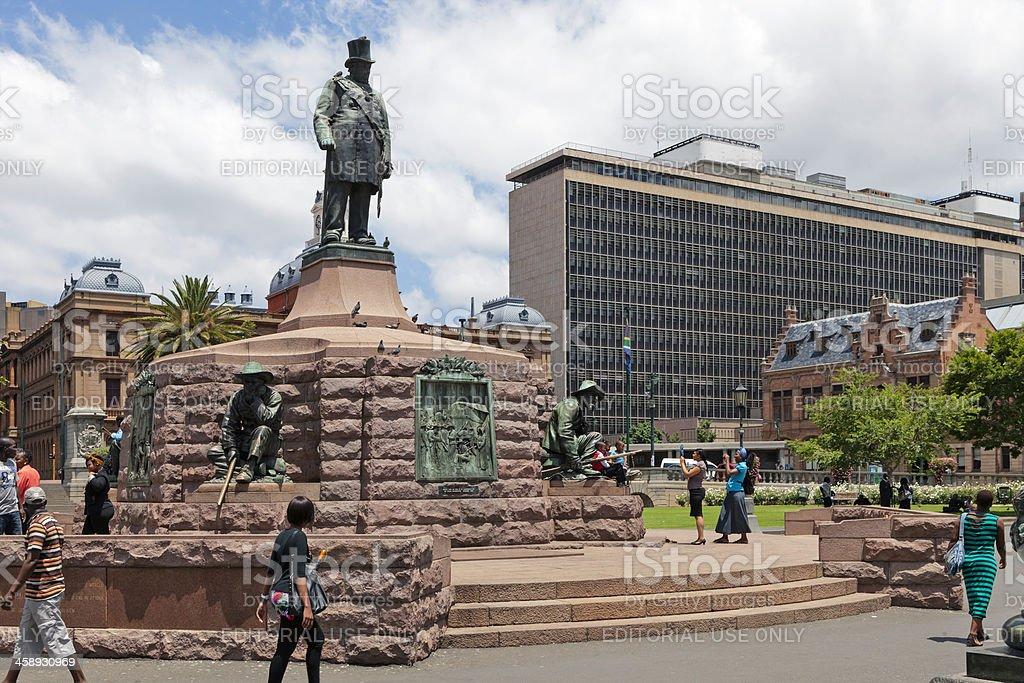 Church Square in Pretoria stock photo