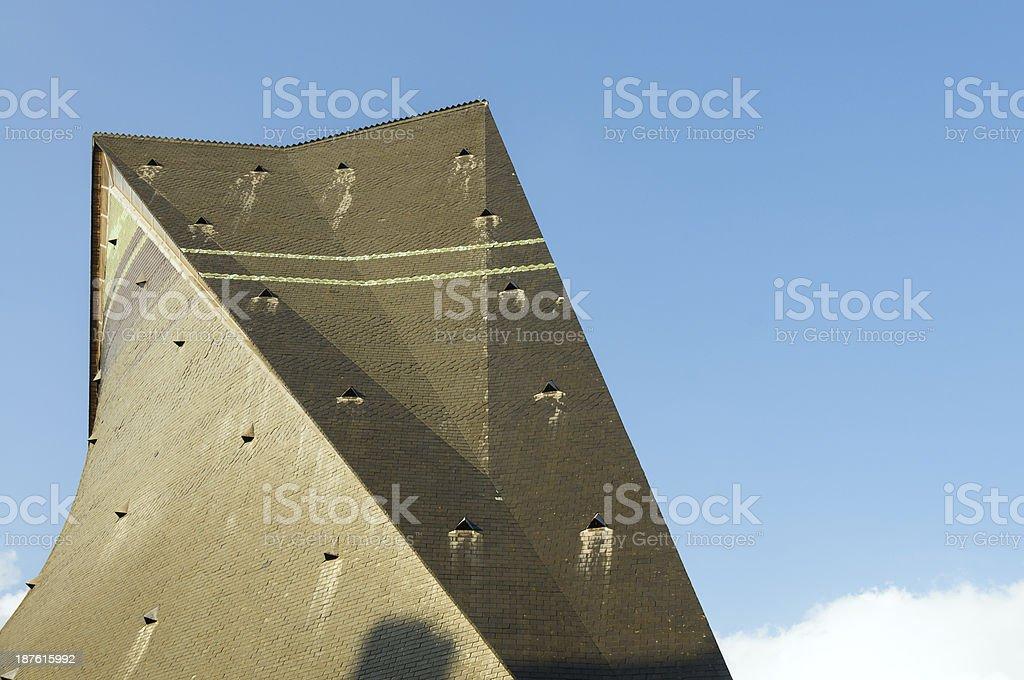 Church St Joan of Arc royalty-free stock photo