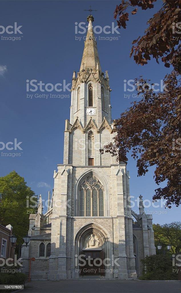 Church St. Josef in Eupen stock photo