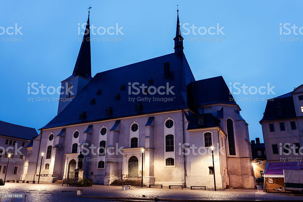 Church St. Peter and Paul stock photo