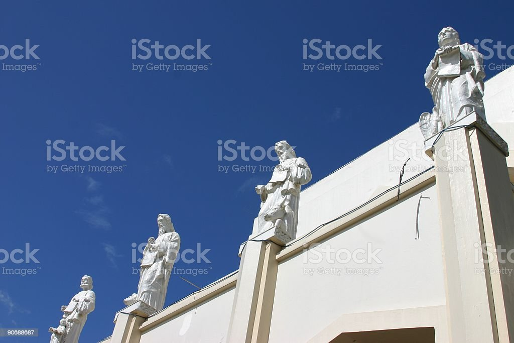 Church Statues royalty-free stock photo