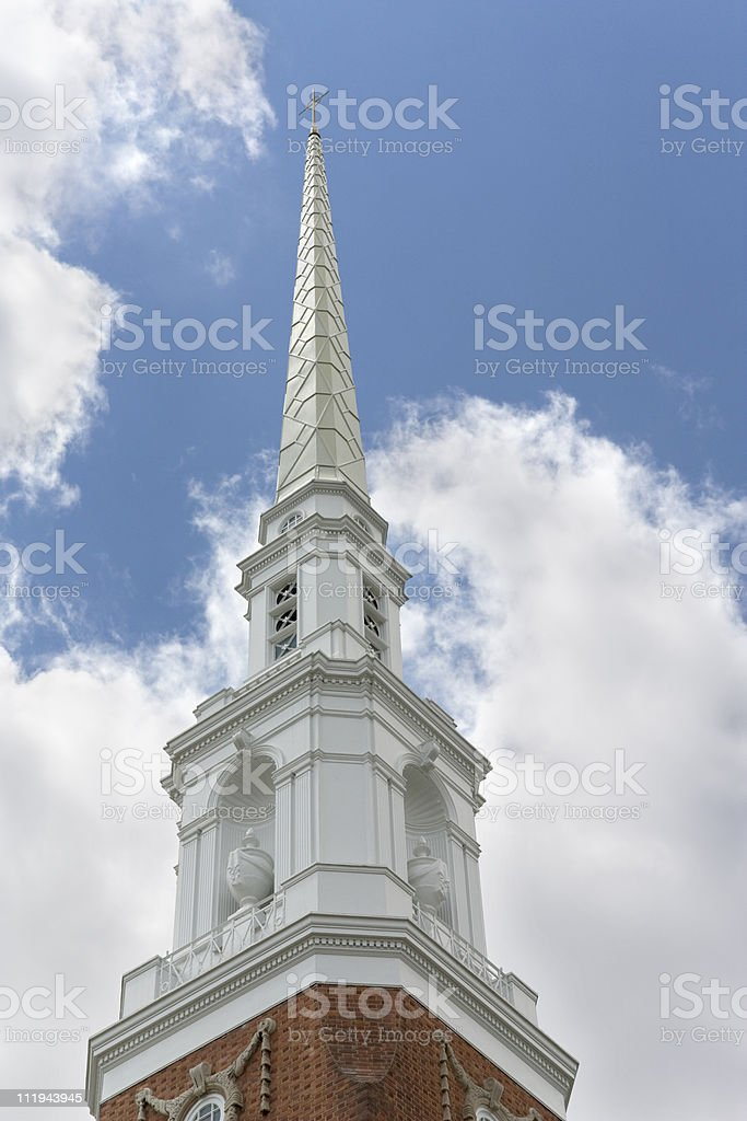 Church Steeple. royalty-free stock photo