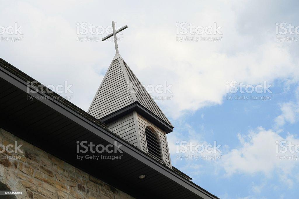 Église Clocher photo libre de droits