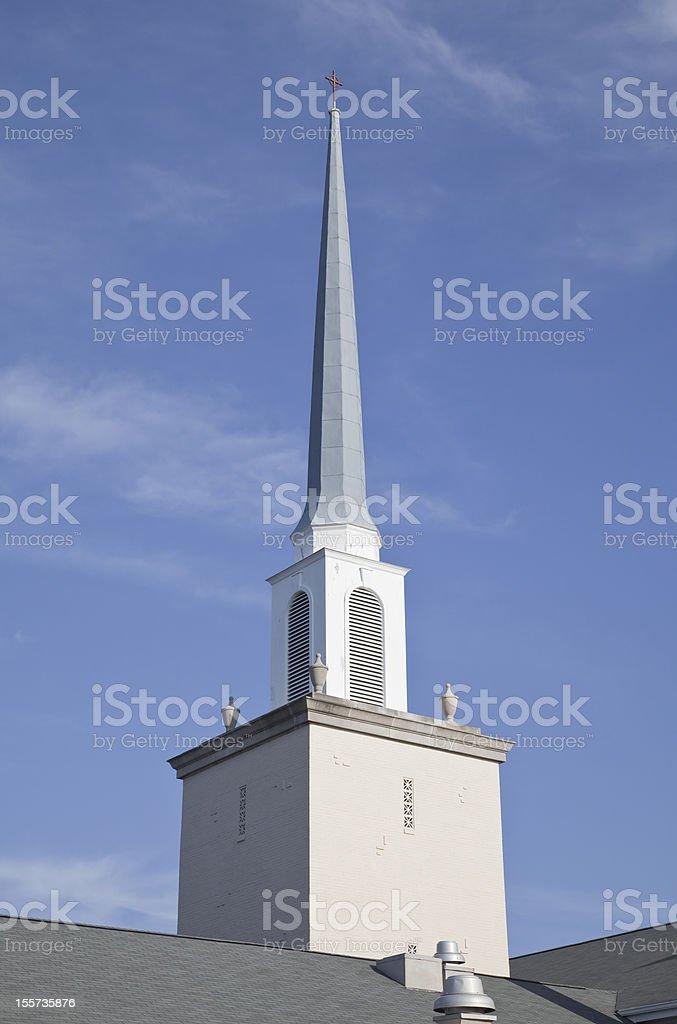 Church Steeple royalty-free stock photo