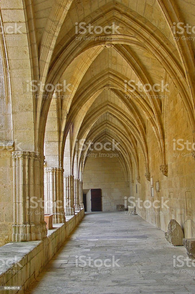 Church St-Nazaire (Beziers) royalty-free stock photo