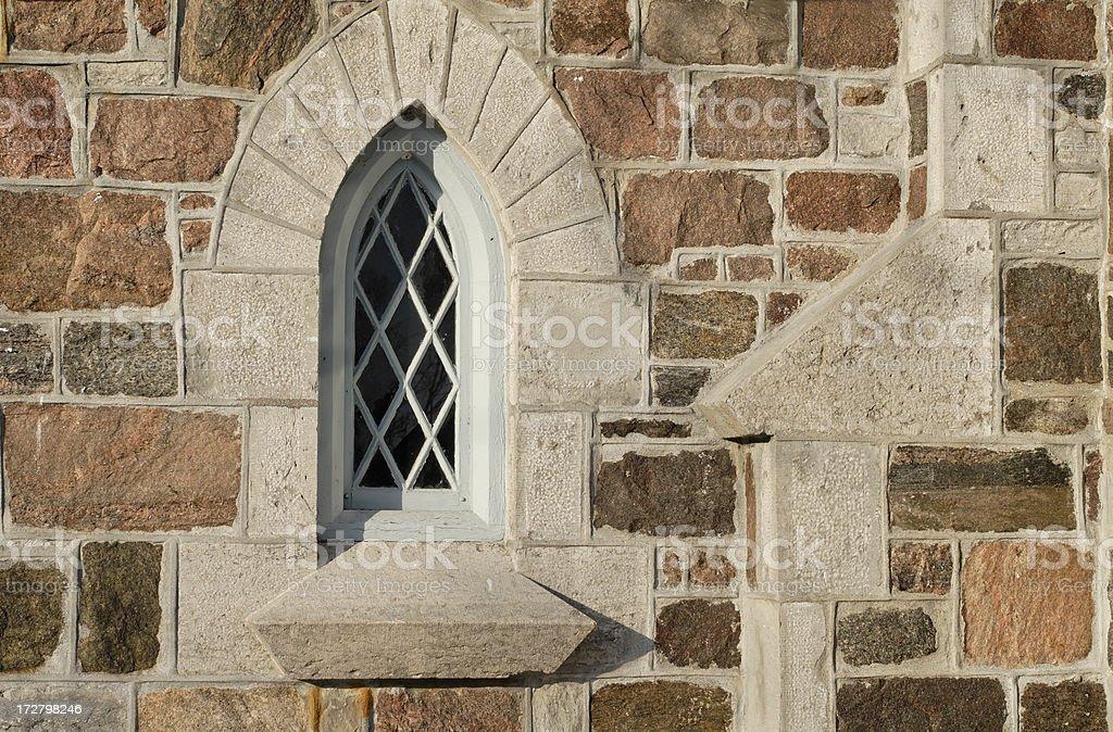 Church Stonework stock photo