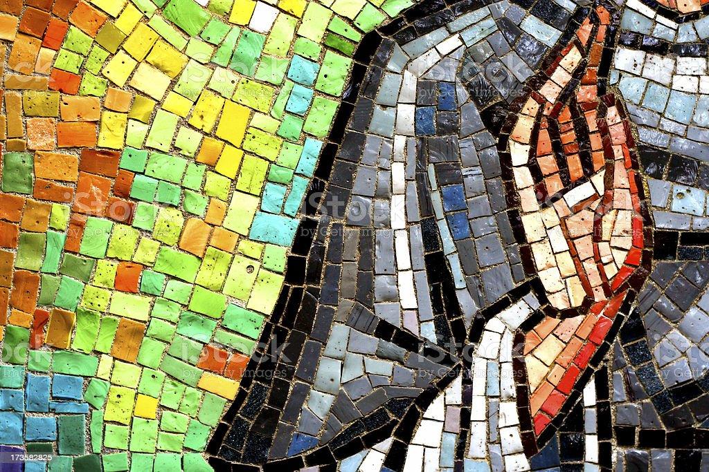 Church tiles royalty-free stock photo