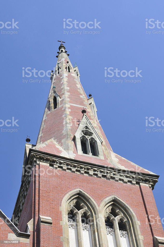 Church Top royalty-free stock photo