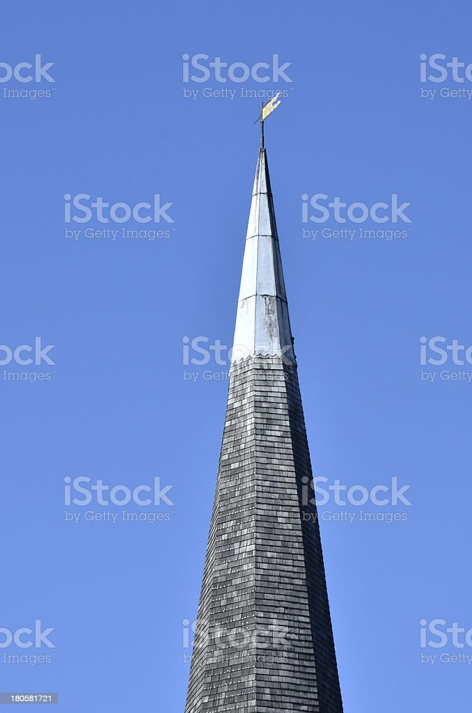 Church Tower in detail royalty-free stock photo