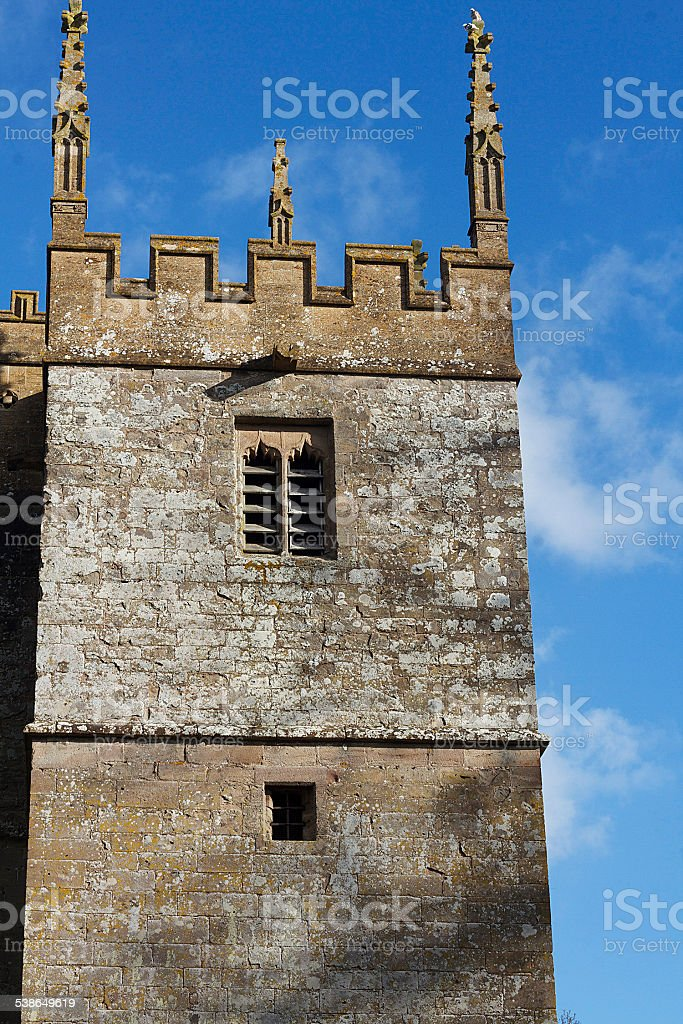 Campanile in Galles foto stock royalty-free