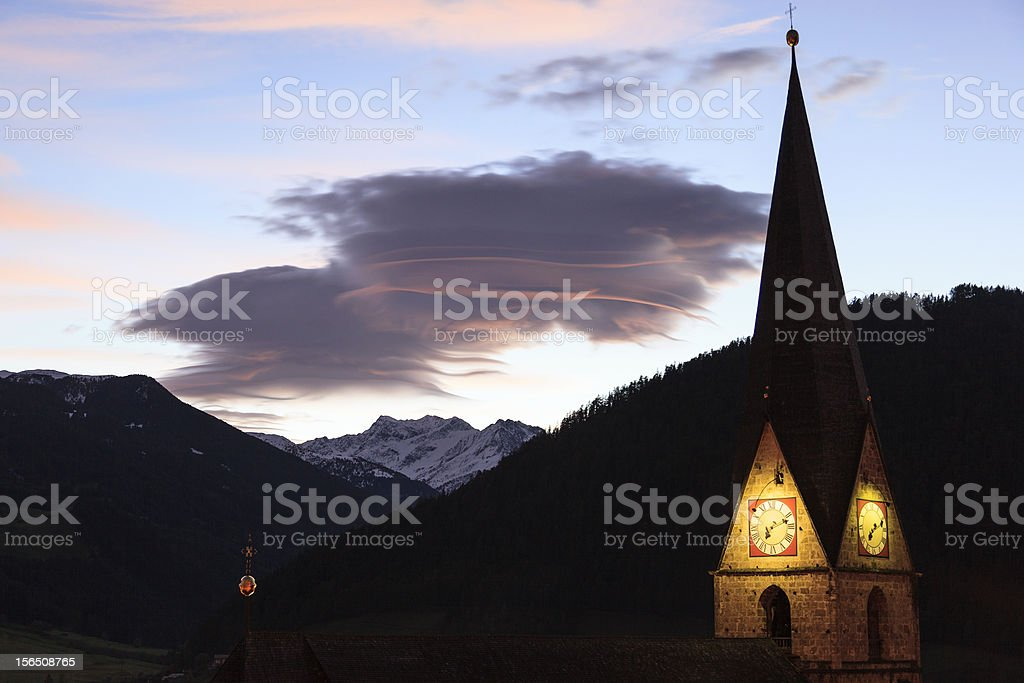 Church tower royalty-free stock photo