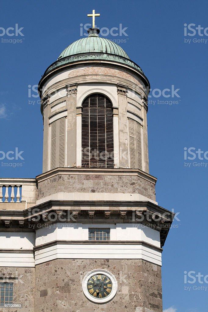 Church Tower stock photo