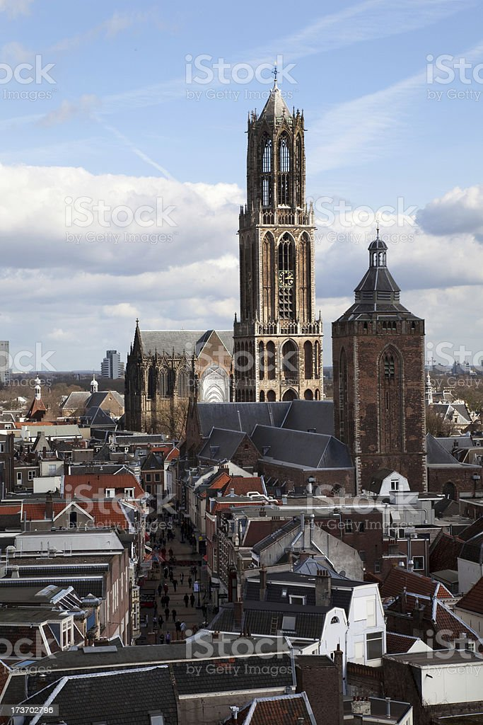 Church Towers (XXXL) royalty-free stock photo