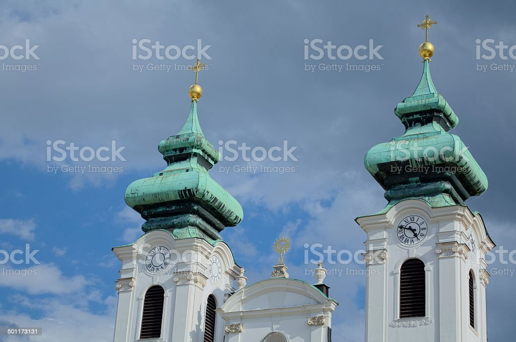 Church Towers royalty-free stock photo