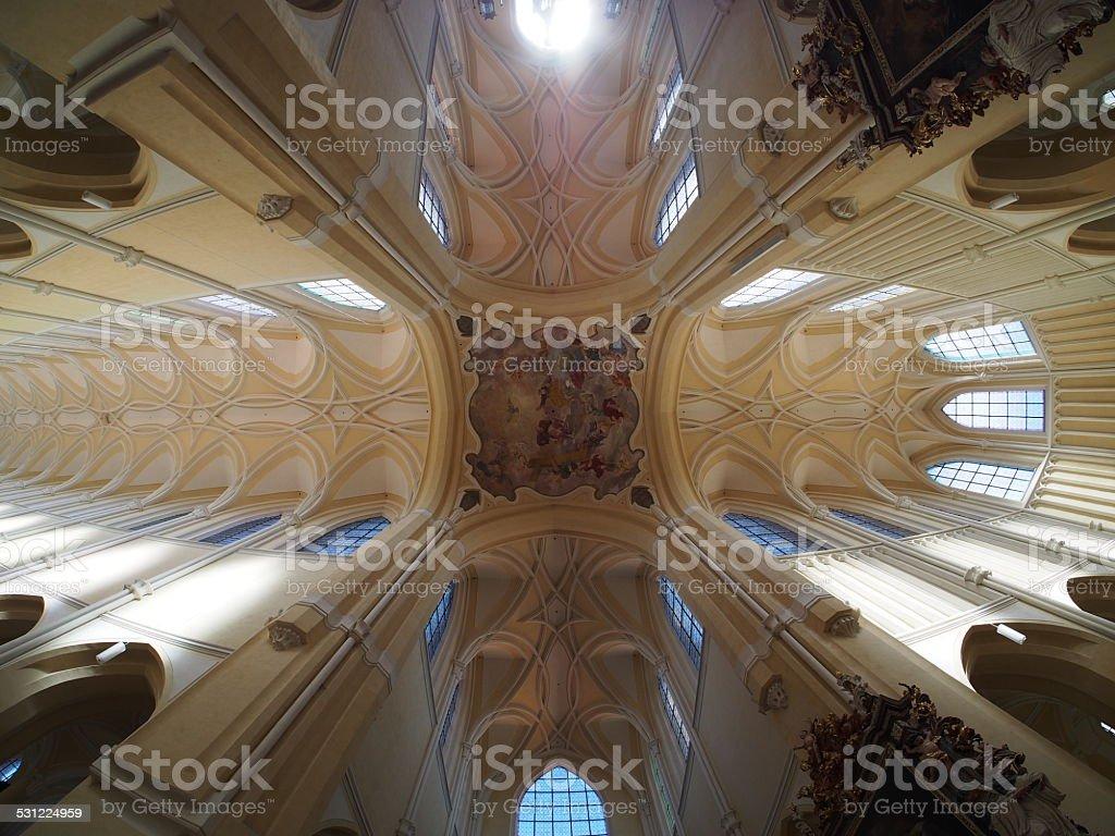 Church vault stock photo