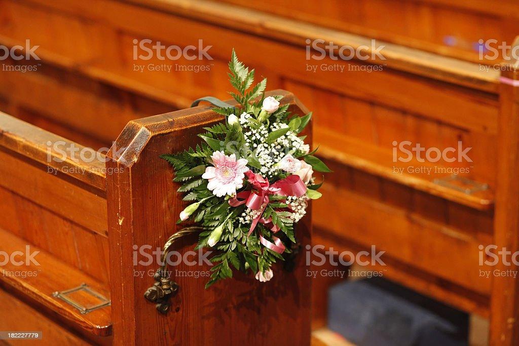 church wedding royalty-free stock photo