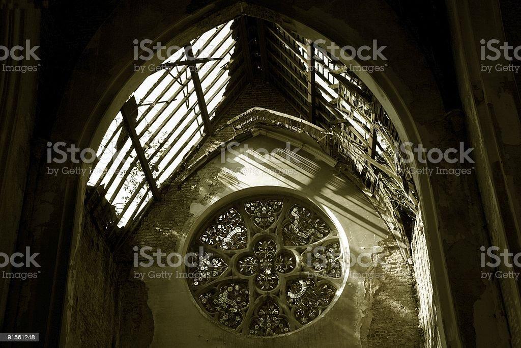 Church window royalty-free stock photo