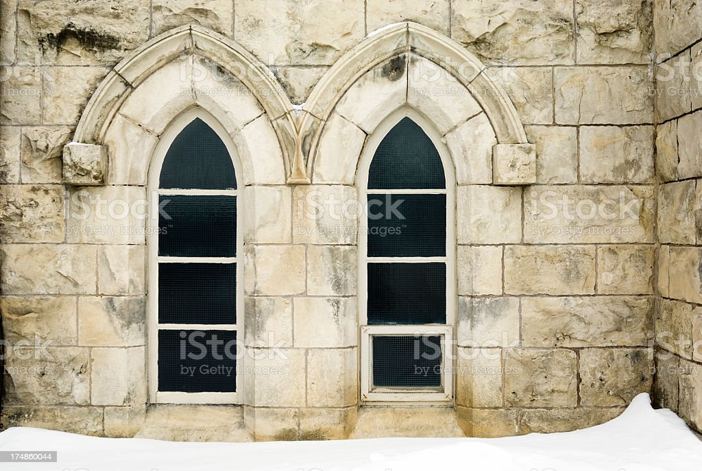 Church Windows royalty-free stock photo