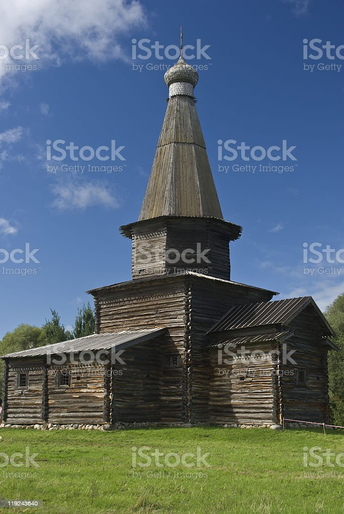 Church wooden royalty-free stock photo