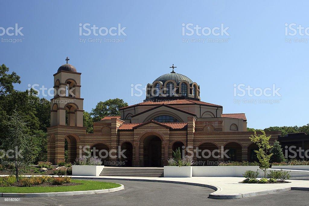 Churches - Greek Orthodox Church of the Assumption royalty-free stock photo