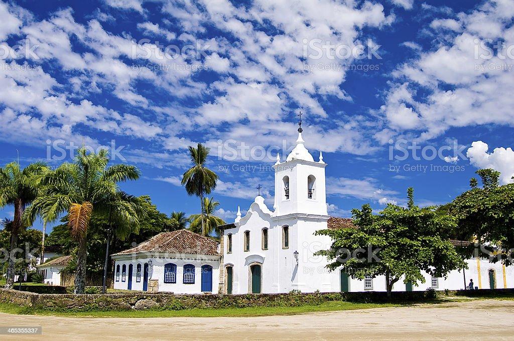 Churches in Latin america Brazil stock photo