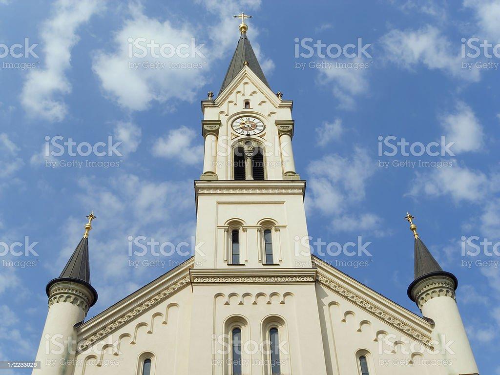 Churches in Munich: St Benedikt royalty-free stock photo