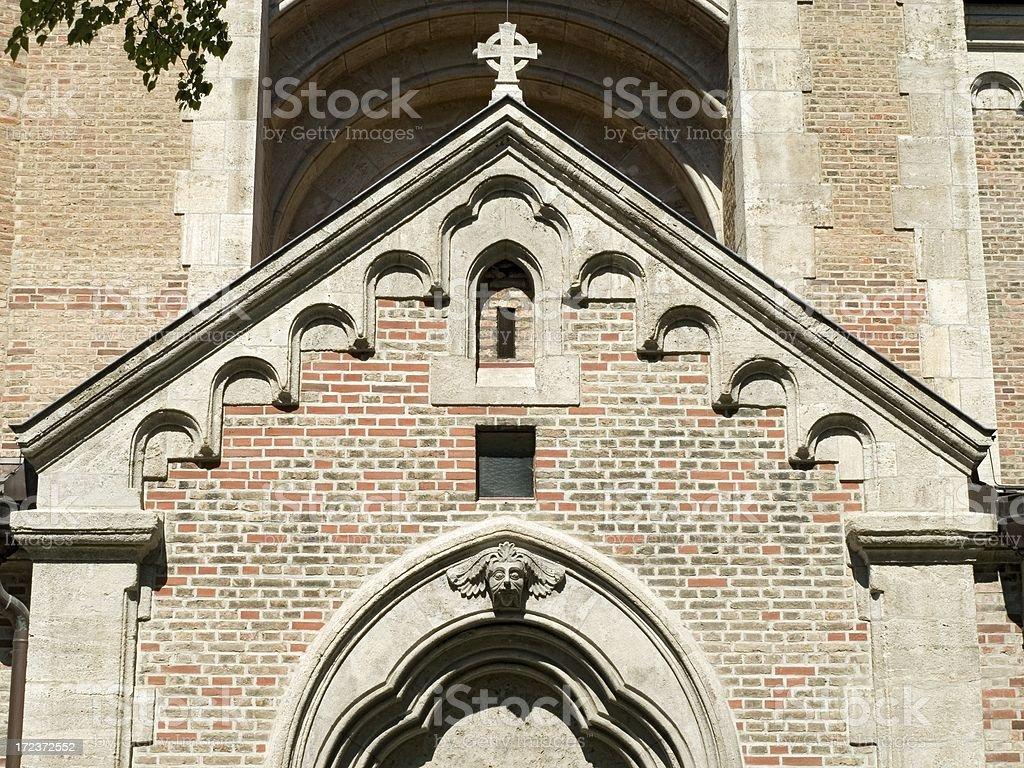 Churches in Munich - St. Maximilian royalty-free stock photo