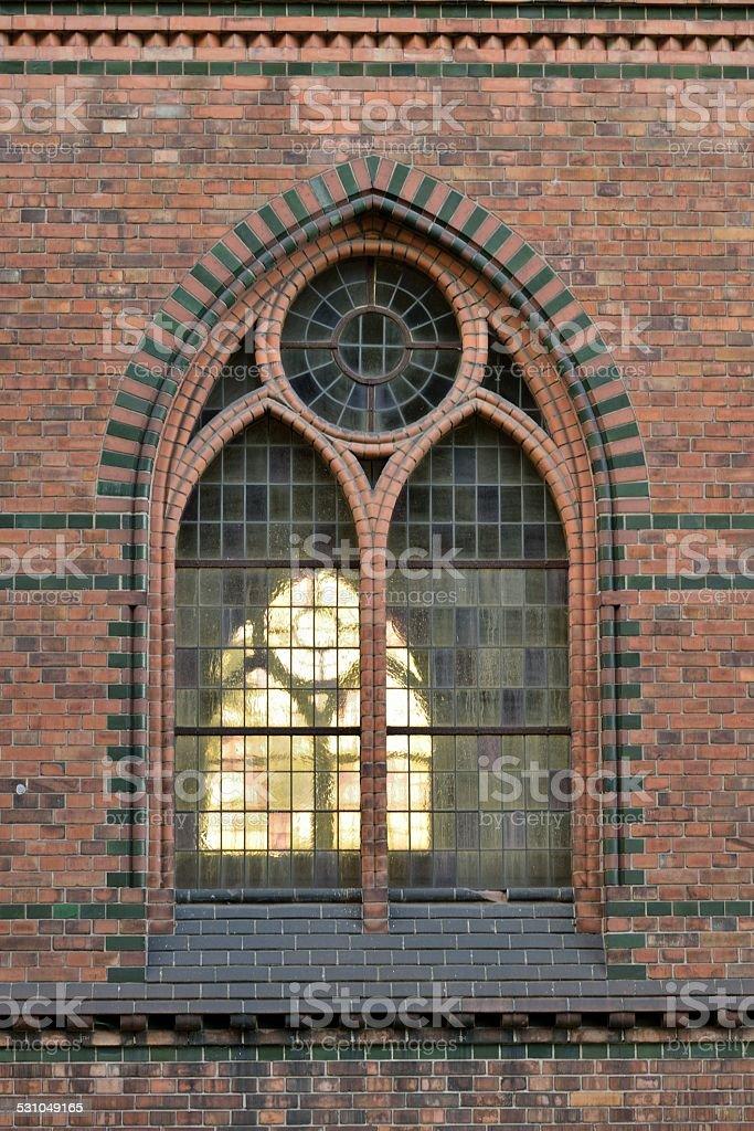 Churches Window stock photo