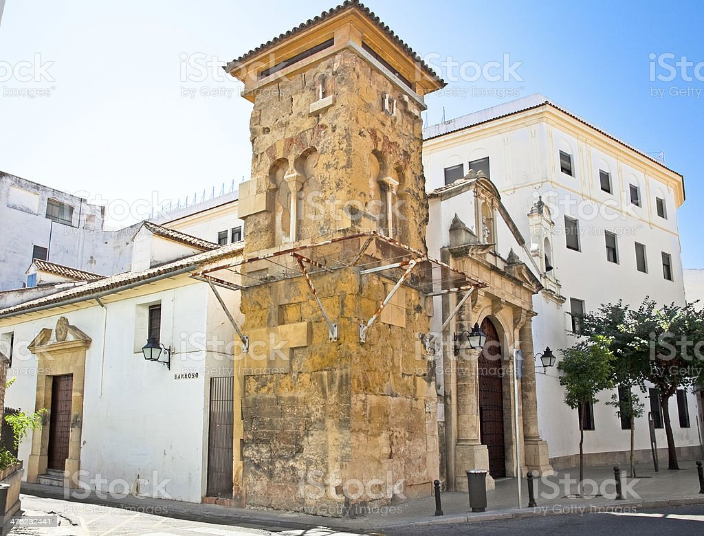 Churchl Sagrado Corazon-Colegio de las Esclavas in Cordoba,   Sp royalty-free stock photo
