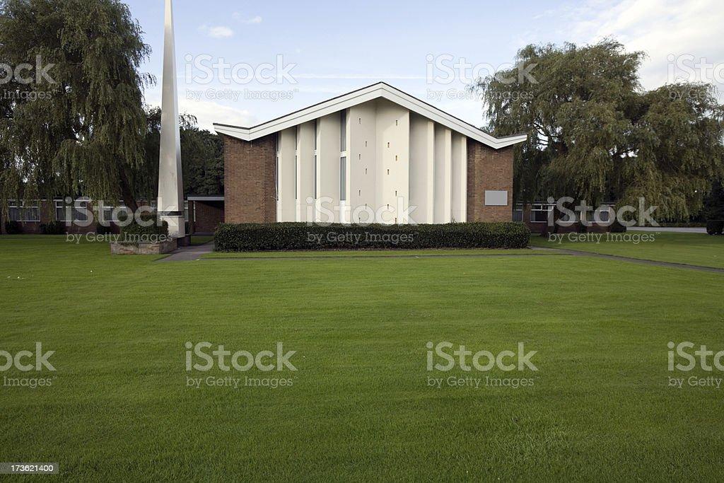 Church-More in Lightbox Below stock photo
