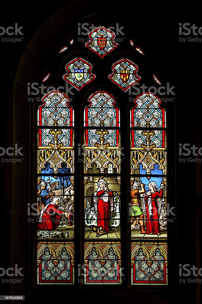 Church's window royalty-free stock photo