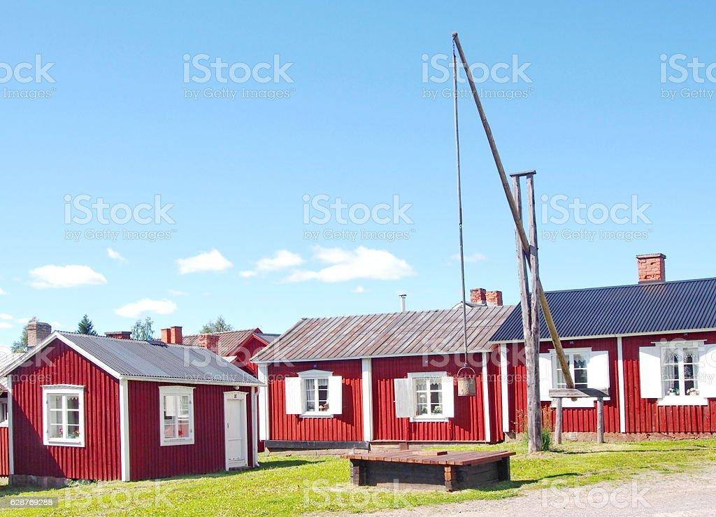 Churchtown stock photo