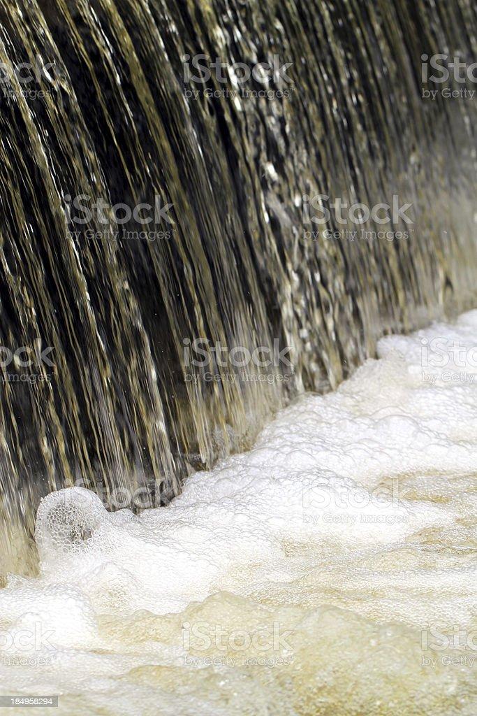 Churning Foam royalty-free stock photo