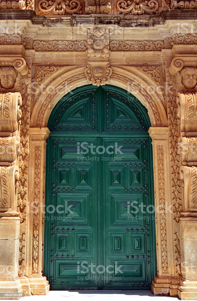 Churrigueresque style royalty-free stock photo
